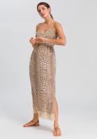 Maxi dress with Leo-print