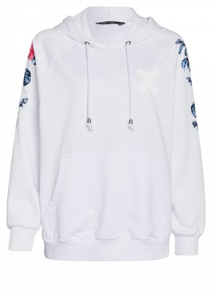 Pullover mit Stitchingprint