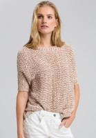 Shirt in knitted design