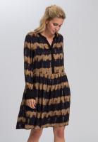 Dress With batik stripes