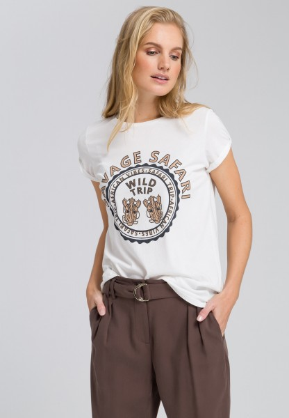 T-shirt with frontprint