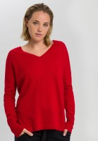 Cashmere sweater with V-neck