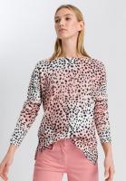 Sweaters in leopard print style