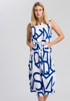 Dress with text printing