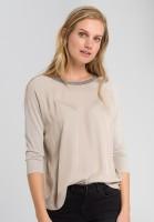 Shirt with lurex yarn