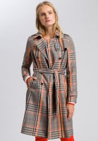 Short coat in glenchek pattern